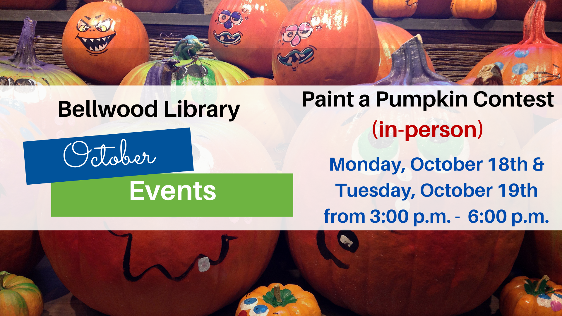 Paint a Pumpkin Contest (in-person)