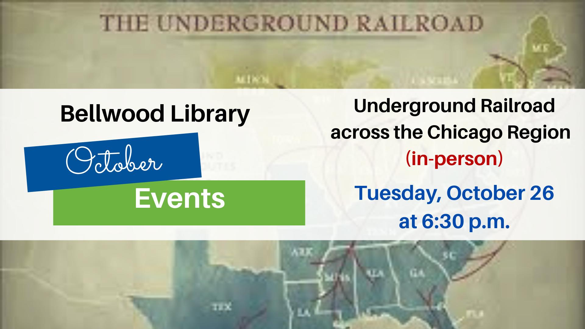 Underground Railroad across the Chicago Region (In-Person)
