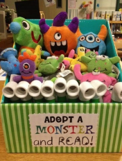 Adopt a stuffed Pet at Bellwood Library